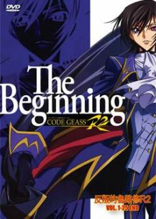 CODE GEASS R2 LELOUCH OF THE REBELLION COMPLETE SEASON 2 1 25 DVD