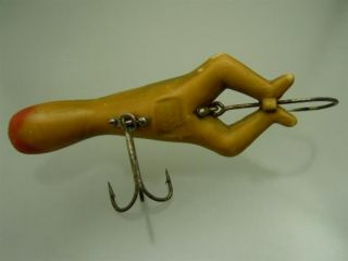 Vintage Antique Heddon Luny Frog Fishing Lure Bait