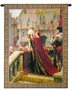 Medieval Royalty Prince Leighton Tapestry Wall Hanging