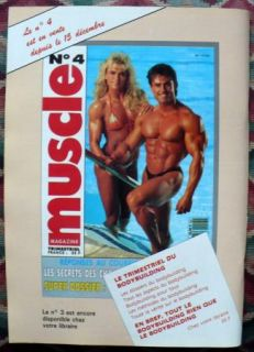 Le Monde Du Muscle French Bodybuilding Magazine 1 92