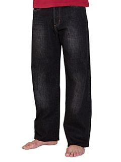 Raging Bull Straight leg jeans Red