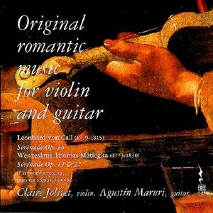 Original Romantic Music for Violin and Guitar L V