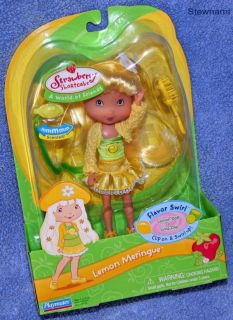 Lemon Meringue Doll Flavor Swirl Strawberry Shortcake 2006