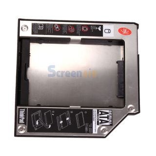 Slim SATA HDD Hard Drive Disk Caddy Adapter Bay for IBM Lenovo T60 T61
