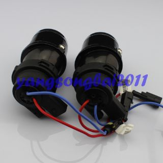 Universal Fit H3 Fog Light Projector Lens Kit Glass Projectors