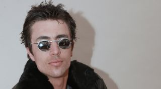 Small Silver Round Vampire Steampunk Sunglasses Hi Tek