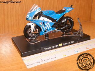 Yamaha YZR M1 1 18 Valentino Rossi Moto GP Catalunya08