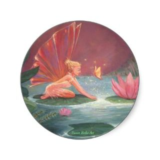 The Lotus Pond Fairy Sticker