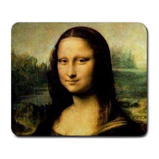 Leonardo Da Vinci Mona Lisa Mousepad Mouse Mat