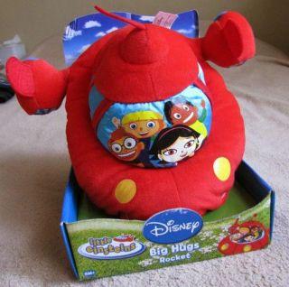 Disneys LITTLE EINSTEINS *Big Hugs* 10 Rocket Plush Pillow Buddy Toy