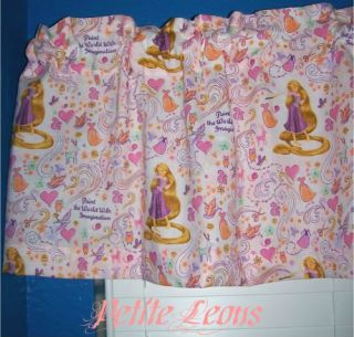 New Disney Princess Tangled Rapunzel Curtain Valance