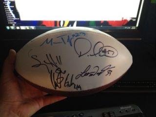 RARE Autographed Seattle Seahawks Team Football