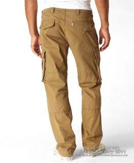 Levis Mens 569 Loose Cargo Pants Cougar 0002