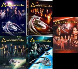 ANDROMEDA Complete SEASON 1 2 3 4 & 5   DVD NEW