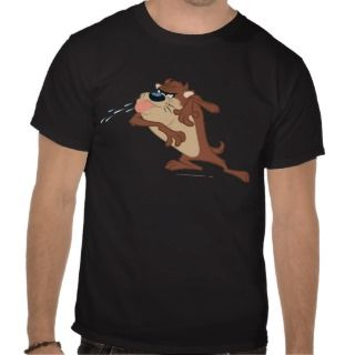 Taz sticking out his tongue tee shirts