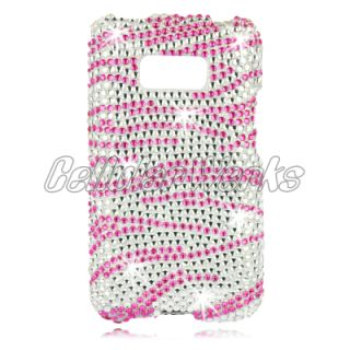 Bling Cell Phone Case Cover for LG LS696 Opimus Elie M+ MeroPCS