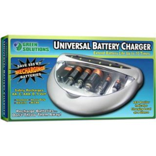 Green Solutions Universal Battery Charger Model No JB5411