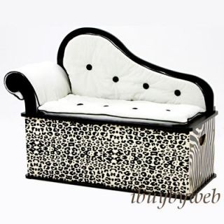 Levels of Discovery Kids Wild Side Toy Box Bench Seat