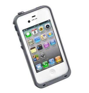 Lifeproof Generation 2 Waterproof iPhone 4 iPhone 4S Case White New in