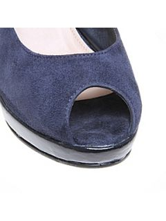 Carvela Auto Court Shoes Navy