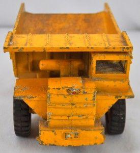 Vintage Die Cast Letourneau Westinghouse Dump Truck Toy