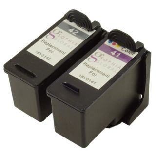 Combo Pack Ink Cartridge for Lexmark 42 41 X4850 X4875 X4975 X6570