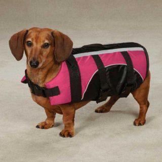 Dog Pet Life Jacket Preserver Water Boating Safety Vest Floatation