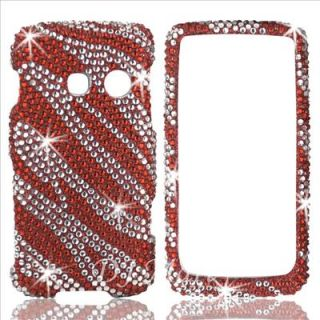 LG LN510 Rumor ouch Diamond Bling Phone Case Cover