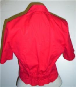 Vtg Lilia Smith Western Wear Cowgirlwomans Shirt XS