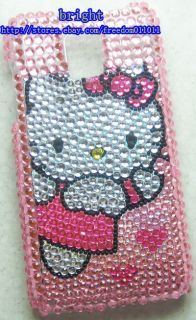 New Hello Kitty Bling Case Cover for LG Optimus 2X G2X P990 4