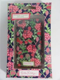 Lilly Pulitzer iPhone 3G 3GS Navy Bloomers Mobile Cell Phone Cover