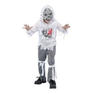 New Child Costume Light Up Mummy Zombie M 6 7 8