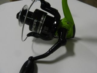 Prototype Bass Pro Shops VIPER Spinning Fishing reel 10BB VP40C Lime