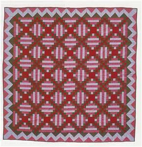 Limerick Log Cabin Classic Patchwork Quilt Pattern