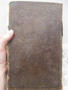 1840 Antique Chemistry Book Justus Liebig Organic Animal Old 1800s