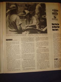 2510201SR Parade Magazine Linda Lovelace Sherlock Holmes September 1