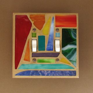 USA Handmade Light Switch Plate Cover Double Toggle Switchplate Wall