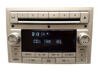 Lincoln Navigator MKZ MKX Zephyr Radio 6 Disc Changer CD Player Aux 06