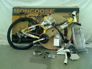 Mongoose Tech 4 Mens Dual Suspension Mountain Bike 26 inch Wheels 19