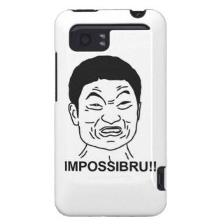 Impossibru!! Comic Face HTC Vivid Cover
