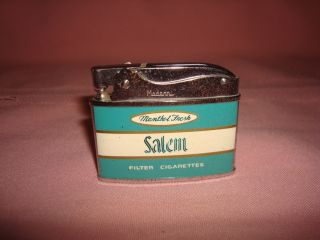 Vintage Salem Menthol Lights Cigarette Lighter by Modern Made in Japan
