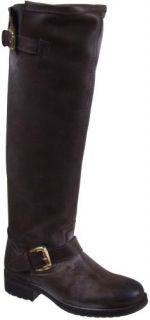 Steve Madden Lindley Tall Leather Boots Womens