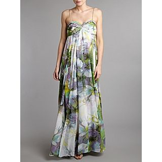 £ 76 00 was £ 190 00 js collections long floral print dress