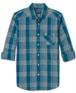 American Rag Long Sleeve Shirt, Retro Plaid