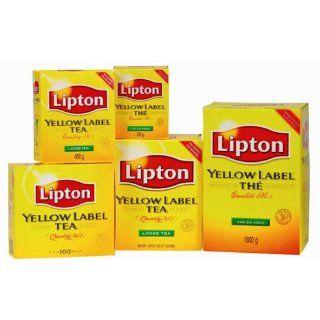 Lipton Yellow Label Tea Bags 3 Boxes 300 Tea Bags Special Economic