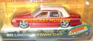 1990 90 Lincoln Town Car Dub City Diecast Jada RARE