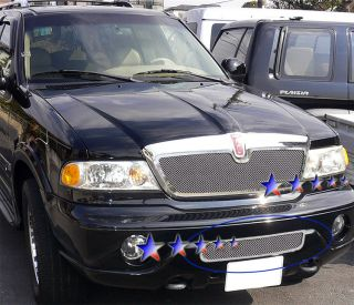 Stainless Chrome Mesh Grille 05 06 Lincoln Navigator