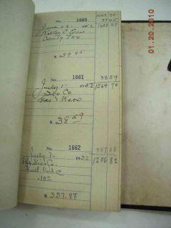 1924 Antique Cope Checkbook Flower Pot Lincoln Univ PA