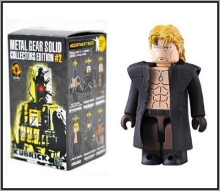 Medicom Metal Gear Solid 2 Liquid Snake Kubrick Figure
