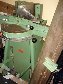 Morso Picture Frame Mitering Machine Floor Standing Guillotine